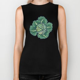 dreaming cabbages Biker Tank