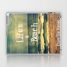 Life's a Beach Laptop & iPad Skin