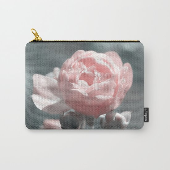Romantic rose at Backlight- roses Carry-All Pouch