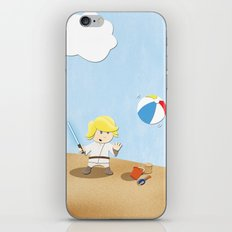 SW Kids - Luke at the Beach iPhone & iPod Skin