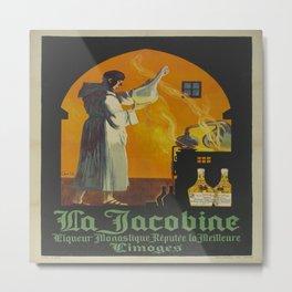 Vintage poster - La Jacobine Absinthe Metal Print