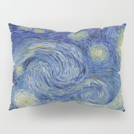 The Starry Night Pillow Sham
