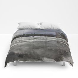 Fish Lake in Transition Comforters