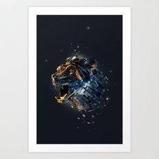 Manimals - Ursa Art Print