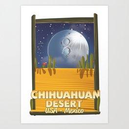 Chihuahuan Desert Art Print