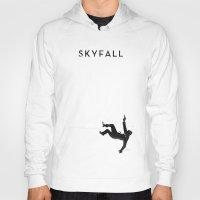 skyfall Hoodies featuring Skyfall by Arian Noveir