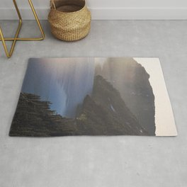 First Light at the Lake - Nature Photography Rug