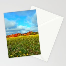 Autumn's Contrasts Stationery Cards