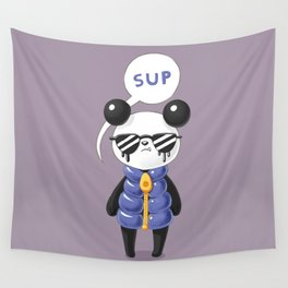 Sup Panda Wall Tapestry