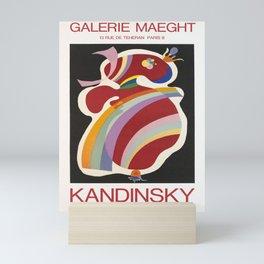 kandinsky periode parisienne vintage Poster Mini Art Print