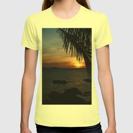 Sunset from the Big Buddha Café T-shirt