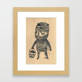 Mummyboy Framed Art Print