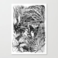 Fronds + Foliage Canvas Print