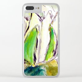 Lotos Clear iPhone Case