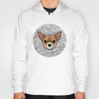 chihuahua Hoodies featuring Chihuahua by lllg