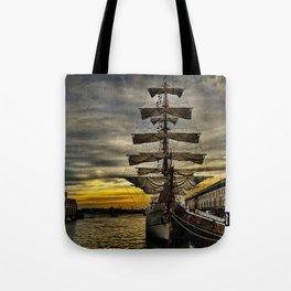 Tall Ship BAE Guayas Tote Bag