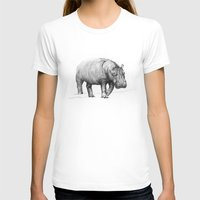 hippo T-shirts featuring Hippo by 1 of 20