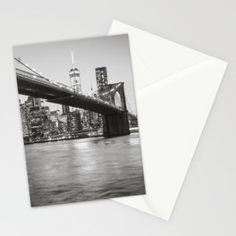 After Sunset in Brooklyn Stationery Cards