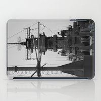 wisconsin iPad Cases featuring USS Wisconsin by Kelly Stiles