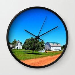 Stunning PEI Farm Wall Clock