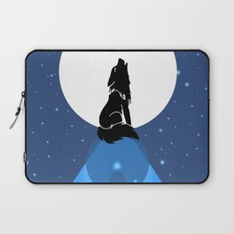Howling Wild Wold Laptop Sleeve