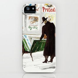 The Art Collector iPhone Case