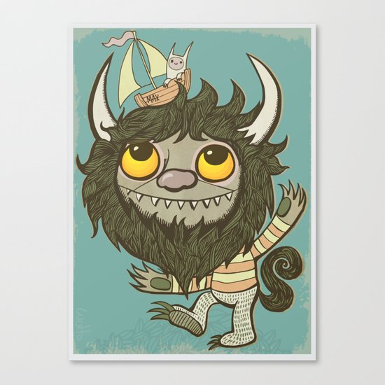 An Ode To Wild Things Canvas Print