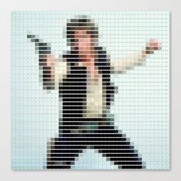 Han Solo - StarWars - Pantone Swatch Art Canvas Print