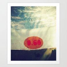 Pool 0.60 Art Print