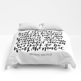 Herman Melville Quote Comforters