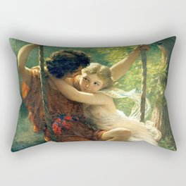 Spring by Pierre Auguste Cot Rectangular Pillow