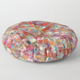 Patched Quilt Floor Pillow