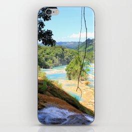Agua Azul iPhone Skin