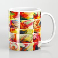 quilt Mugs featuring Quilt by Jose Luis