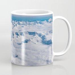 Aerial Glacier Four - Alaska Coffee Mug