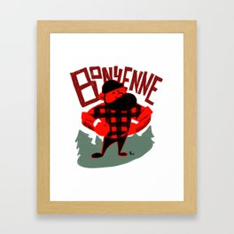 Bonyenne Framed Art Print