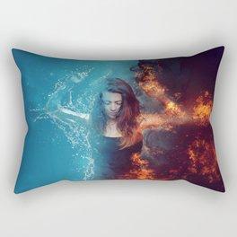 Inner Contradictions Rectangular Pillow