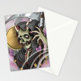 Grim Reaper Monster by Kevin Thrun Stationery Cards