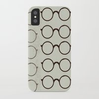 glasses iPhone & iPod Cases featuring (Glasses) by Mr & Mrs Quirynen