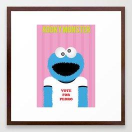 Kooky Monster Framed Art Print