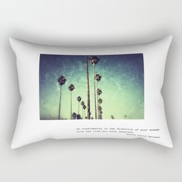 Live the life you have imagined #2 Rectangular Pillow