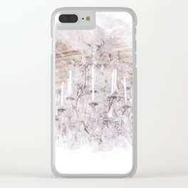 Palace Chandelier 1 Clear iPhone Case