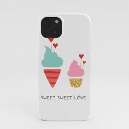 Ice Cream lovers iPhone Case