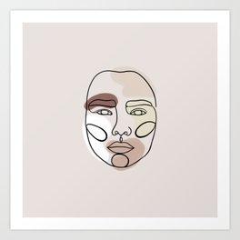straightforeward Art Print