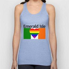 Ireland Gay Wedding Unisex Tank Top