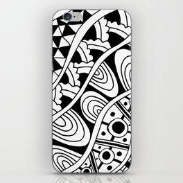 Zentangle iPhone Skin