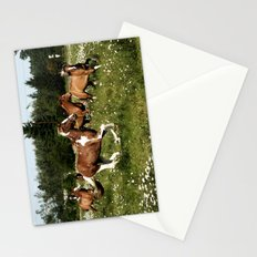 Spring Horse Run Stationery Cards