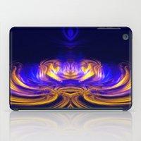 meditation iPad Cases featuring Meditation by Art-Motiva