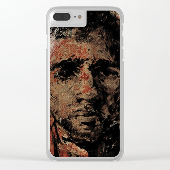 Oblivious People 2 Clear iPhone Case