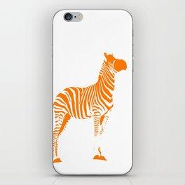 Animals Illustration Zebra iPhone Skin